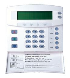 NetworX Alarm Keypad
