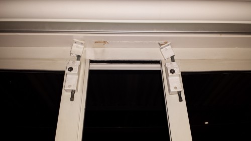 Sliding doors need locks at the top and the bottom if they are going to stop a break-in.