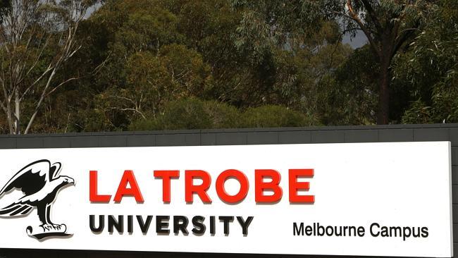 LaTrobe Univerity sign